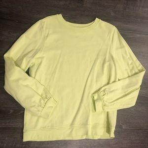 Banana Republic Lime Green Sweatshirt